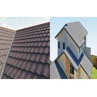 Best Aluminum - Zinc Coating Stone Chip Coated Steel Roof Tiles Durable wholesale
