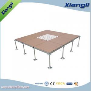 China Anti Static Raised Access Flooring Office Raised Floor System on sale