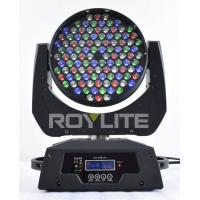 Best Theatre 108 x 3w RGBW Moving Head Led Lights Beam Angle 25° Super Bright wholesale