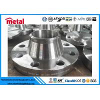 China UNS N08020 Nickel Alloy Pipe fittings Welding Neck Flange WN RF SCH 40 on sale