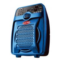 China Reachargeable Battery Plastic Speaker Box , Bluetooth PA Speaker With Microphone on sale
