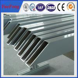 Quality aluminum tube anodized colored/ Custom aluminum profile tube/ aluminum alloy profile tube wholesale