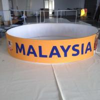 Best Promotions Hanging Trade Show Displays And Ceiling Sign With Tension Fabric wholesale