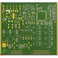 Buy cheap Electrical Motor Control Custom Circuit Board / Fr4 Printed Circuit Board from wholesalers