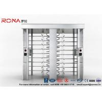 Cheap Automatic Security Full Height Turnstile Double Lane With Impact Resistance With for sale