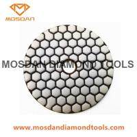 Best 4 Inch 5 Steps Economical Dry Polishing Pads for Marble Granite wholesale