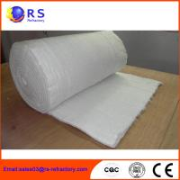 Best Fireproof Refractory Ceramic Fiber Blanket Insulation For Industrial / Steel wholesale
