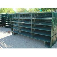 Best Powder Coated Horse Yard Panels Pre Hot Dipped Galvanized Steel Pipe Material wholesale