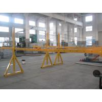 Best Lifting Suspension Mechanism Suspended Work Platform With Dipping Zinc / Painted Steel Material wholesale