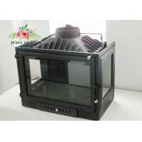 Cheap Retro Black Real Fire Freestanding Cast Iron Fireplace / Modern Wood Burning Stove for sale