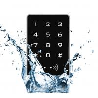 Buy cheap Anti Corrosion Standalone Keypad Access Control RFID Reader Metal Aluminum Alloy from wholesalers