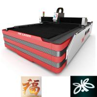 1000W HE Fiber Laser Cutting Machine , Laser Sheet Metal Cutting Machine