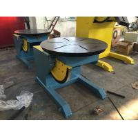 Best VFD Control Welding Rotary Table / Welding Positioner Turntable Rated Load Cap 600Kg wholesale