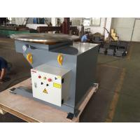 Best 1.1kw Motor 2 Ton Head Tail Rotary Weld Positioner With Drive And Idler wholesale