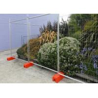 Best Concerts / Parades Temporary Construction Fence Panels Directing Pedestrian Traffic wholesale