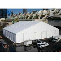Best 500 Seater Outside Event Tents Glass Wall And ABS Wall With Max 100KM / H Wind Load wholesale