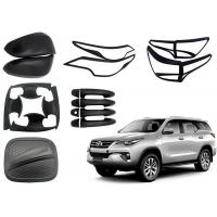 Best TOYOTA Fortuner 2016 2018 Replacement Auto Body Parts Black And Chrome Color wholesale
