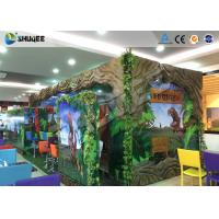 Best Interactive 7D Movie Theater Box With Specail Design , Like Dinosaur Box wholesale