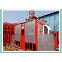 Quality Construction Hoisting And Lifting Equipment , Man Material Elevator Lifts wholesale