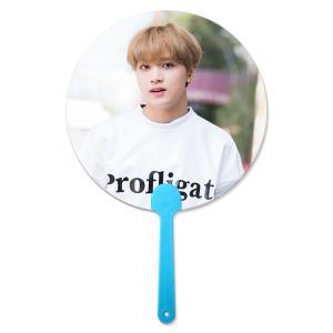 Best 17x17cm Flip 3D Lenticular Hand Fan Korea Star For Kpop Idol wholesale