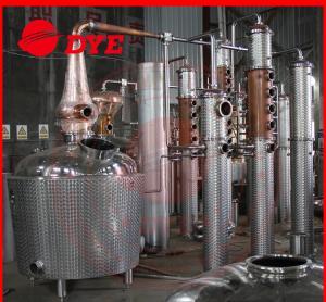 Best Miniature Copper Commercial Distilling Equipment  200L - 5000L wholesale