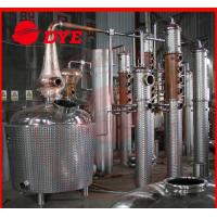 Best Stainless Steel Alcohol Commercial Distilling Equipment 200L - 5000L wholesale