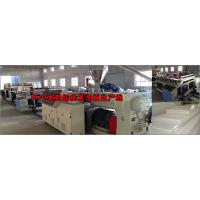 Best Anti Chemical Corrosion Plastic Board Production Line Crust Foam WPC Board Production Line wholesale