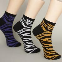 Best Color Stripes Sweat - Absorbent Sports Ankle Socks With Nylon / Spandex / Cotton wholesale