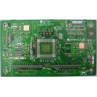 China Silver Immersion Printed Circuit Board Manufacturing Scoring / Route / V-Score PCB Fabrication on sale