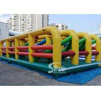 Best Extreme Maze Obstacle 5k Course Inflatable Fun Run Challenge For Obstacle Games wholesale