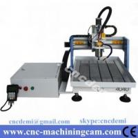Buy cheap desktop mini cnc router for wood cutting ,metal engraving 4040 (400*400*120mm) from wholesalers