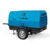 Buy cheap diesel driven belt drive 185cfm portable sandblasting compressor from wholesalers