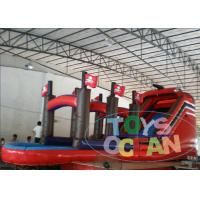 Details of parties inflatable pirate ship slide with mini - Inflatable pirate ship swimming pool ...