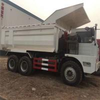 Best 6x4 50 Ton Mining Dump Truck With Single Sleeper Cab And Manual 10 Speeds Gear Box wholesale