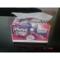 China Eco Friendly 3 Ply Tissues , Plastics Bag Soft Pack Facial Tissue Paper on sale