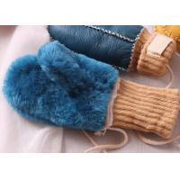 Best Infants Sheepskin Suede Mittens for Boys and Girls S , M , L Size wholesale