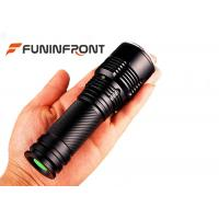 Best Water Resistant Super Bright CREE XM-L T6 Handheld Zoom LED Flashlight wholesale