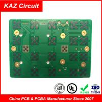 Best 2 layers fr4 printed circuit board 1.6mm 1oz ENIG with Carbon wholesale