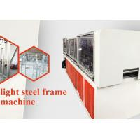 Buy cheap 13 Rollers Light Steel Roof Truss Machine 7.5kw Main Power for Construction from wholesalers