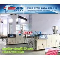 Best Plastic PVC+ASA/PMMA colonial/colony step roofing tile/panel/sheet extrusion machine wholesale