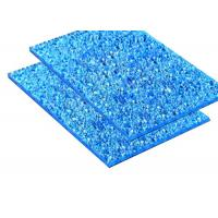 Best Solid Embossed Polycarbonate Sheet Blue Color 1.5-15mm Thickness Anti Condension wholesale