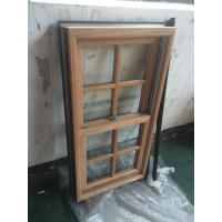 Best Powder Coating / Wooden Grain Aluminium Window Profiles GB / T6892-2006 wholesale