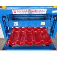 Best Professional Automatic Metal Roof Glazed Tile Roll Forming Machine 2-4m/Min wholesale