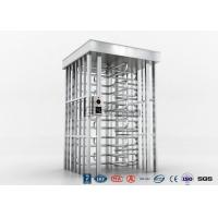 Cheap Indoor Or Outdoor Pedestrian Turnstile Security Systems Semi-Auto Mechanism for sale