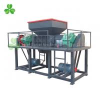 Best Durable Double Shaft Shredder Machine 200KG To 10 Tons Per Hour Capacity wholesale