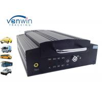Best G-sensor portable vehicle digital video recorder 4ch HDD DVR with CE / FCC wholesale