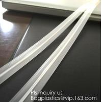 Best PE & PP pvc long chain pe double color flange zipper used for zip lock plastic bags, custom zipper washing machine flang wholesale