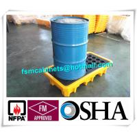 Best Steel Spill Decks Containment Pallets 2 Drums / 4 Drums Removable With Drain wholesale