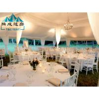 Best Safe And UV Protection High Resistance Good Flexibility White PVC Tent For The Wedding wholesale