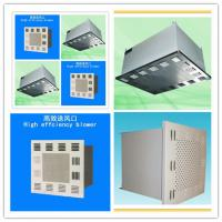 Buy cheap High Aid Resistance Clean Room Equipment 2000m³/h Hepa Filter Washable from wholesalers